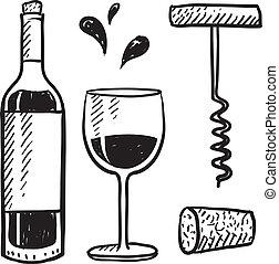 Objetos de vino
