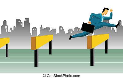 obstáculos, empresa / negocio