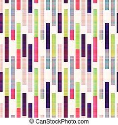 Obstrucción abstracta geométrica rayada