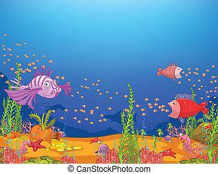 Océano de cartón