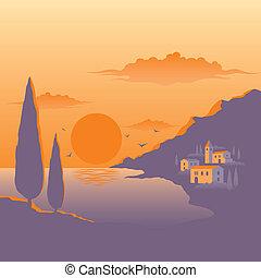 Ocaso Mediterráneo