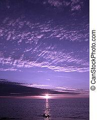 Ocaso púrpura