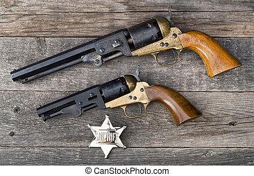 occidental, guns., viejo