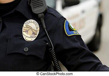 oficial de la patrulla