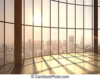 Oficina de luz solar