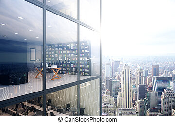Oficina exterior/interior
