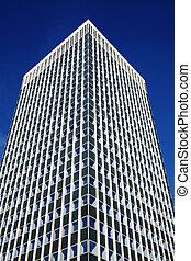 oficina, rascacielos, torre, cielo, arquitectura, reino unido, edificio, azul, céntrico, financiero, inglaterra, empresa / negocio, claro, bloque, futurista, moderno, distrito