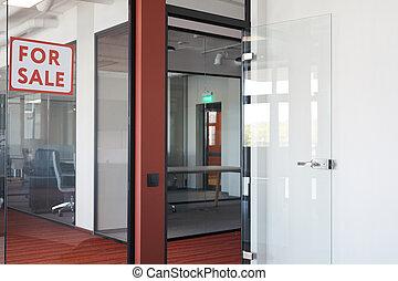 oficina, venta, espacio, moderno