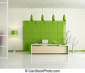 Oficina verde moderna