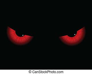 ojos, mal