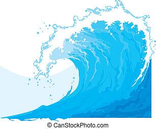 Ola de mar (Ola de océano)