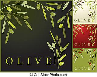 Olives patrones retro