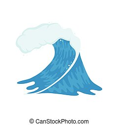 onda océano, clásico