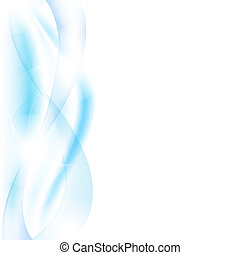 ondas azules, mancha