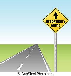 Oportunidad en la carretera