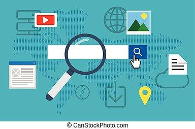 Optimización del motor de búsqueda.