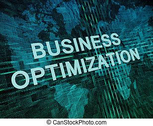 optimization, empresa / negocio
