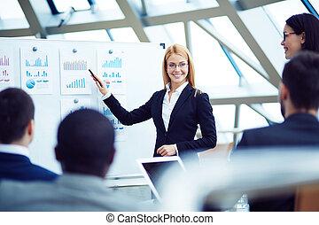 Oradora femenina