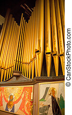 Organ en la iglesia de Inglaterra