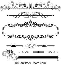 ornamental, horizontal