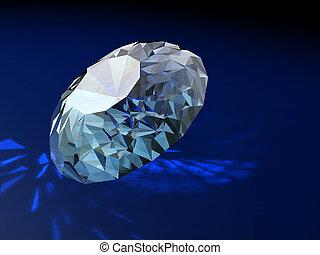 ornamento, brilliants, magnífico, regalo, diamantes