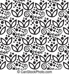 Ornamento de ornamento de ornamentos de ornamento de flores florales florales florales florales de flores florales ilustración estilo textil tribal ornativo.