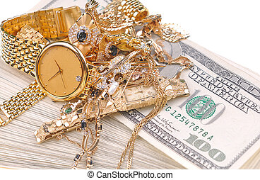 Oro en efectivo