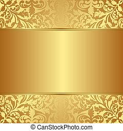 oro, plano de fondo