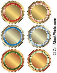 Oro, plata y bronce