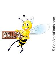 ortografía, abeja