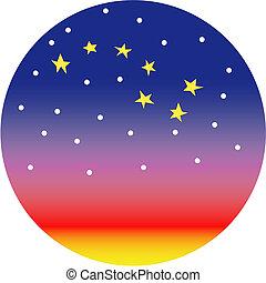 osa mayor, constelación, estrella