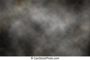 oscuridad, humo, plano de fondo