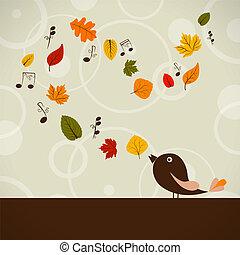 otoño, canción