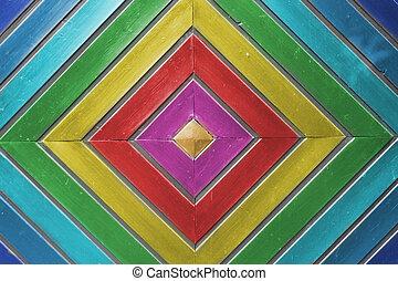 Otra madera colorida
