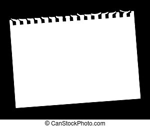 página, blanco