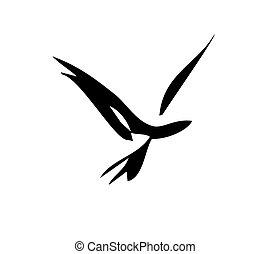 Pájaro suave