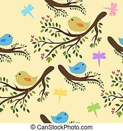 Pájaros guapos sin semen
