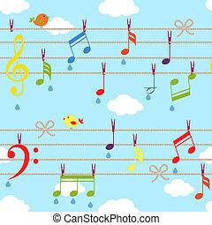 Pájaros y música