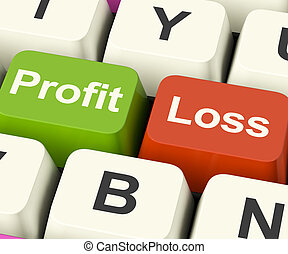 pérdida, empresa / negocio, ganancia, actuación, llaves, regresos, internet, o