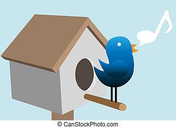 Pío pioí pioí en la casa de los pájaros