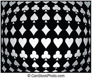 Póker blanco y negro