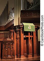 púlpito, iglesia