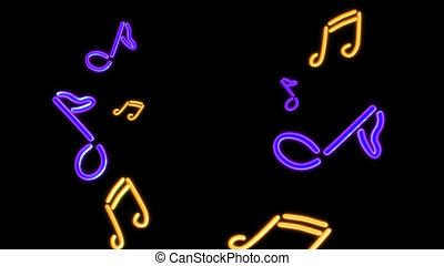 púrpura, música, nero
