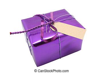 púrpura, presente