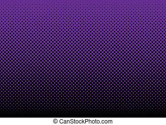 púrpura, resumen, plano de fondo, halftone