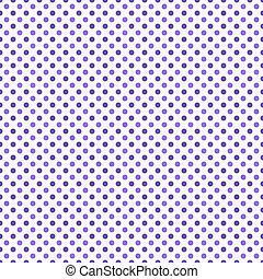 Púrpura y blanco lunar punto de diseño abstracto patrón de azulejo repetir el pasado