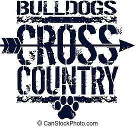 país, cruz, bulldogs