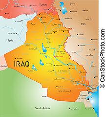 país, irak