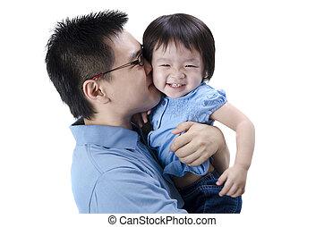 Padre asiático