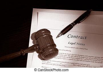 Pago legal y contrato